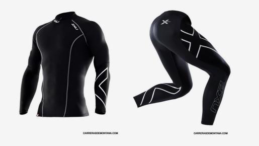 2xU Thermal Compression Long sleee Shirt & Tights.
