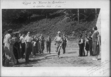 Copa de Hierro RSEA Peñalara. 2ª edición, 4OCT  1925. Noventa años atras ya...