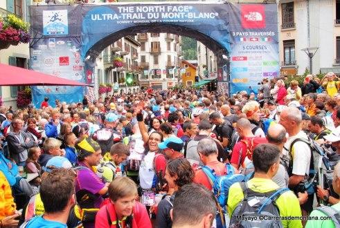 Ultra trail mont blanc: Salida PTL