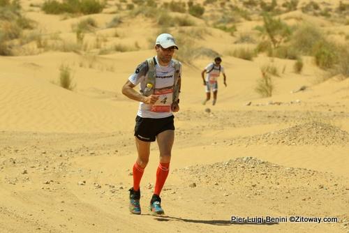 raul garcía castan campeon en la multietapas 100km sahara 2014