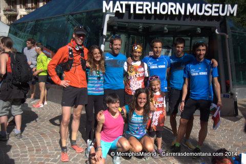 Corredores vascos en Matterhorn Ultraks 2014