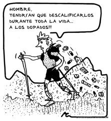 "Trail running: La tribu corremontes. ""El Purista"""
