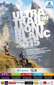 Ultra trail Mont Blanc 2015 cartel oficial