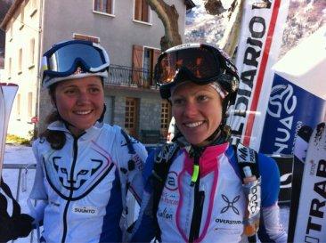 Mireia Miro & Laeitia Roux, campeonas Altitoy 2013 dentro del Grande Course. Foto @loramen
