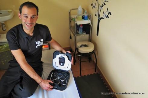 Electroestimulador Compex 6.0: Compañero de trabajo en Fisiocerceda.