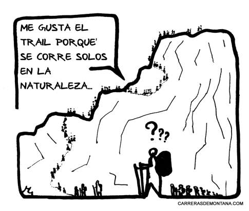 """Carreras de montaña con humor y amor: """"El Solitario"""""""