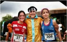 Podio femenino: 1ª Maite Maiora; 2ª Azara García; 3ª Paula Cabrerizo.