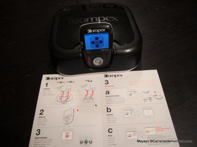 Compex Wireless SP 6.0: Unidad completa y guía rápida de usuario.