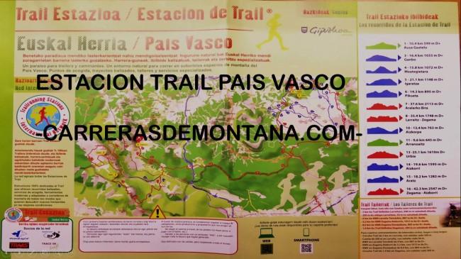 Estacion trail pais vasco carrerasdemontana.com