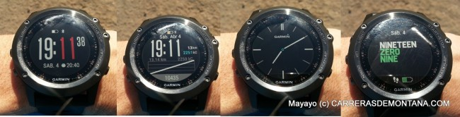 garmin fenix 3 reloj gps  3watchfaces