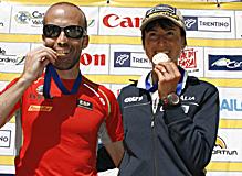 Raul Garcia Castan campeon europa skyrunning 2009 foto ISF