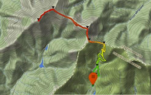 rutas cercedilla trail perfil