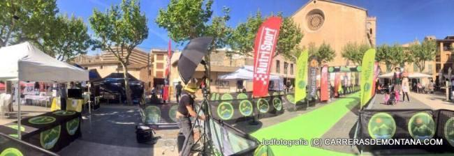 Ulra Mallorca 2015: Así lucía la meta comun para los finalistas de las tres carreras.