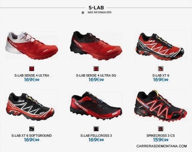 Zapatillas Salomon trail running 2015 SLab