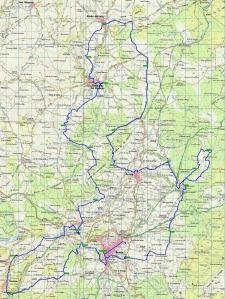 101ronda 2015 mapa de carrera