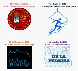 Copa de Hierro 2015: Cuatro grandes carreras de montaña de Madrid.