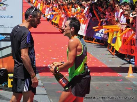 Luis Alberto Hernando y Dani García, 1º y 2º en Transvulcania, llegan en gran forma al Mundial.