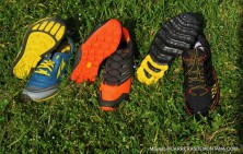 zapatillas trail running altra, la sportiva y the north face.