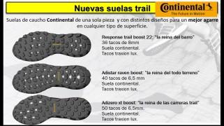 Adidas trail Running 2015 seulas continental
