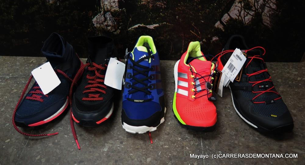 zapatillas adidas trail 2015