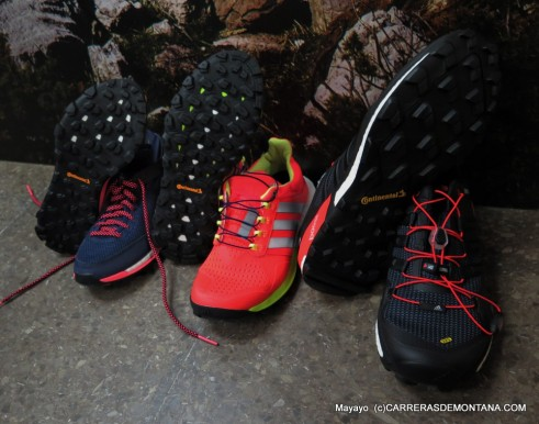 zapatillas trail running Adidas 2015