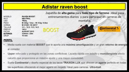 Adistar Raven Boost zapatillas trail running