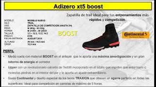 Adizero XT5 boost