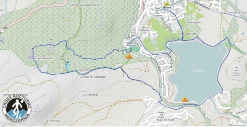 Cross Nocturno Navacerrada 2015 12k D+400m mapa 22un15