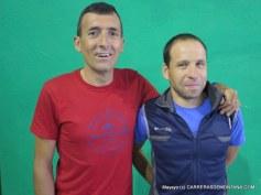 Miguel en la previa del Gran Trail Peñalara 2015