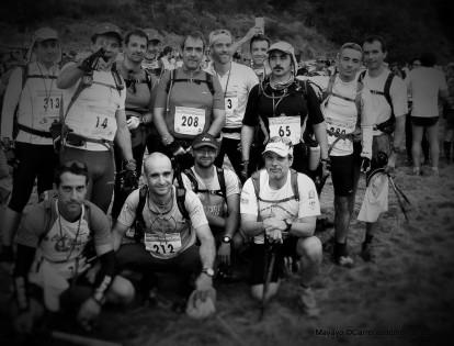 Gran Trail Peñalara 2010: Salida con Los Paquetes