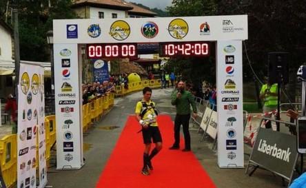 Manuel Merillas campeón y record Travesera 2015. Foto: Azahara García.