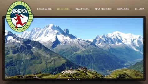 Marathon Mont Blanc panoramica
