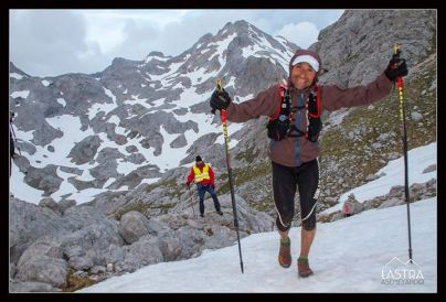 Raul en travesera picos 2015. Foto: Jose Luis Lastra