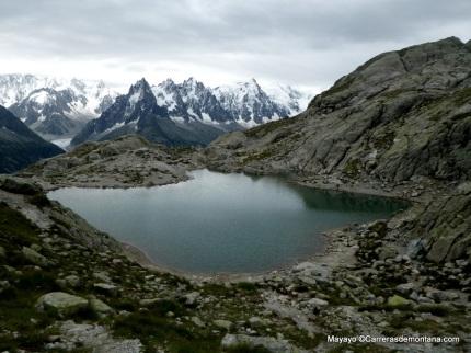 El Lac Blanc, joya natural colgada sobre Chamonix.