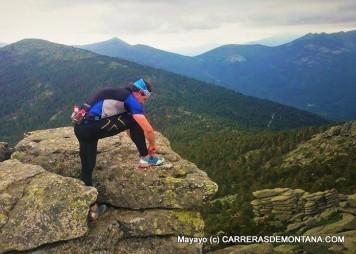 Dynafit Feline X7: Repretando el BOA en cima La Peñota para el descenso.
