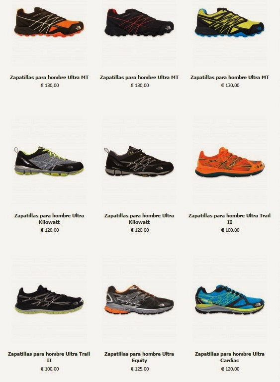 b57b5610cb3 Zapatillas the north face trail running 2015  Tienda online oficial.