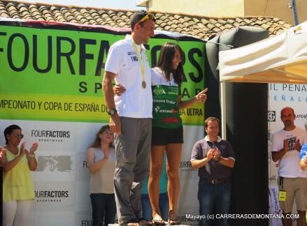 Miguel Heras y Gemma Arenas, campeones España Ultra Trail fedme 2015