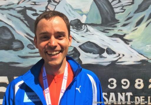 Jan Barta, con la selección checa en víspera Mundial Annecy.