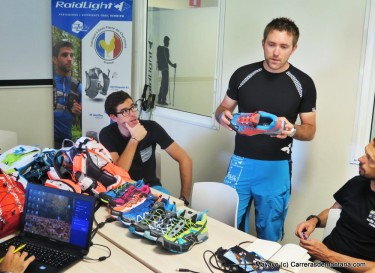 Raidlight en Charteuse: Repaso novedades con equipo central y RL España.