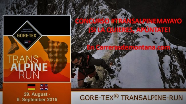 Transalpine Goretex Run:   Un sueño para ultreros veteranos.