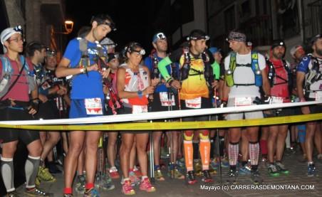 Salida Ultra Trail Valls d´Aneu 2015.