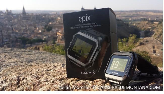 Garmin Epix: Estuche presentación del reloj gps