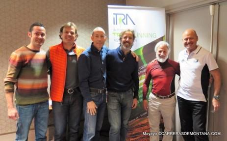 Asamblea ITRA París Marzo 2015: Algunos de los representantes ibéricos.