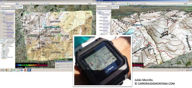 Garmin Epix: Reloj gps operando con Custom Maps