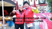 Ultra trail mont blanc. Meta Mayayo  2013