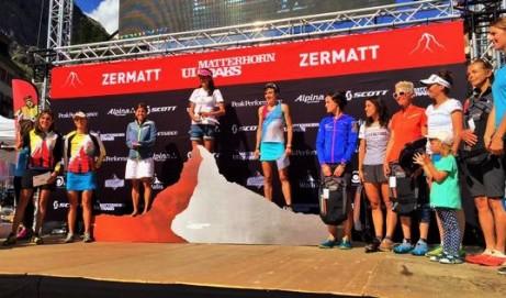 Matterhorn ultraks 2015 Top10 chicas foto: Org.
