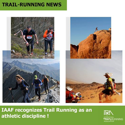 ITRA anunciaba a principios de año el reconocimiento oficial desde IAAF