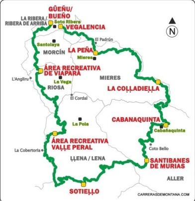 Anillo ciclista Montaña Central Asturias mapa mayayo (2)