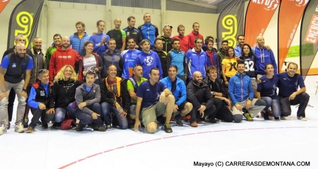 Foto Canfranc Canfranc 2015: Finalistas. Quienes cruzaron meta más los neutralizados en carrera.