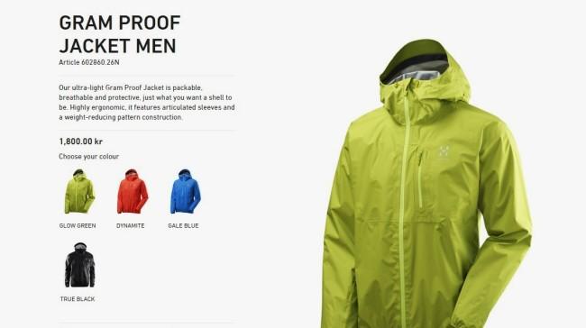Haglofs Gram Proof Jacket ficha (2)